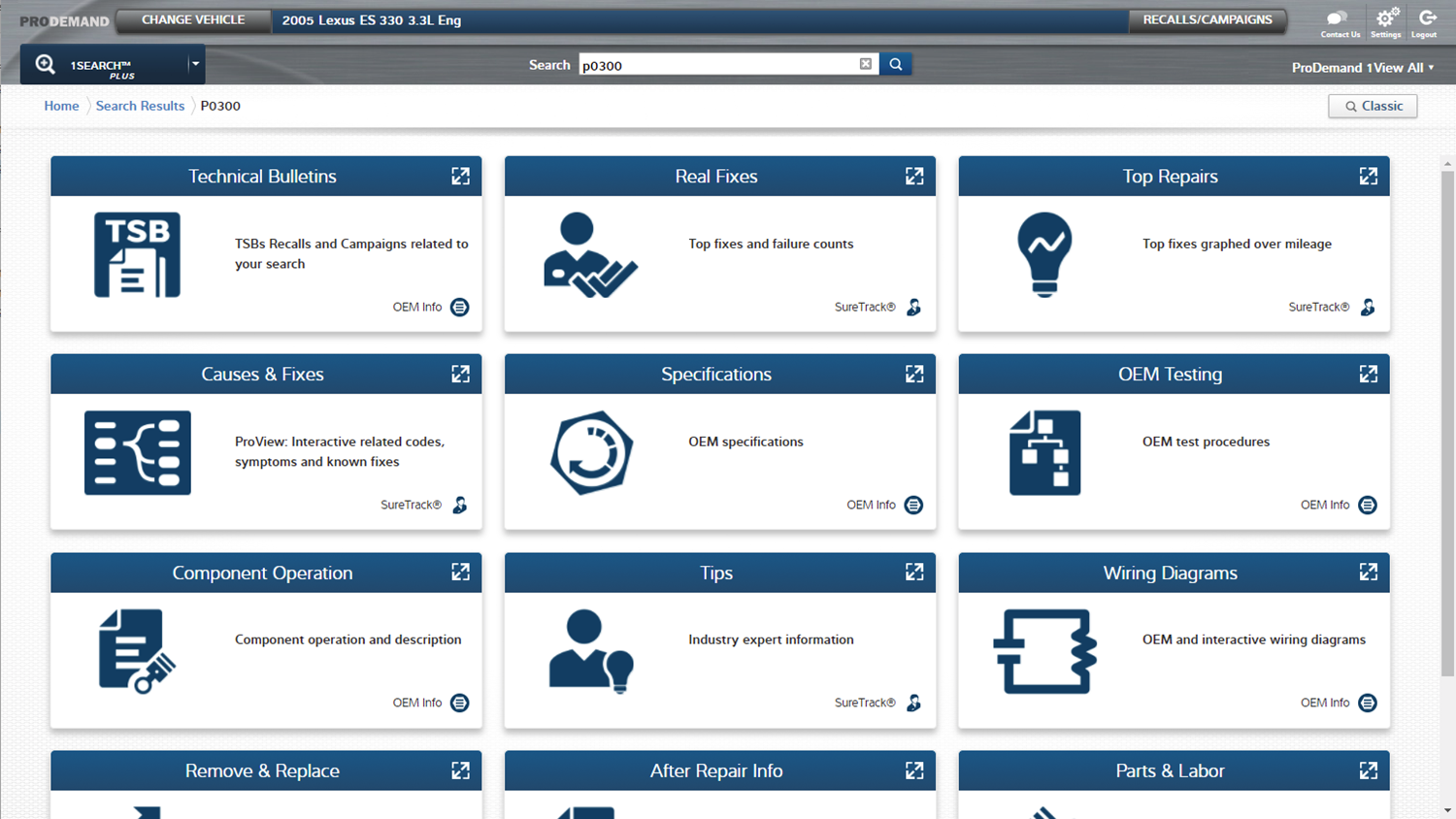 1Search Plus added to ProDemand