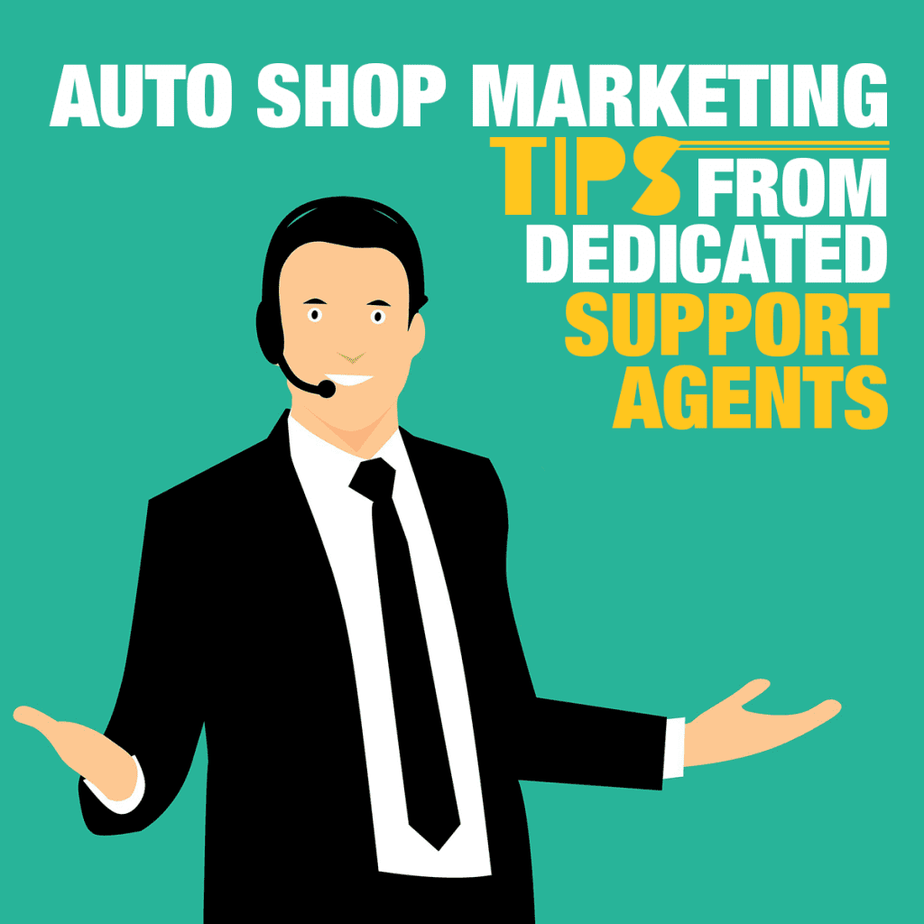 Auto Shop Marketing Tips From Dedicated Support Agents of Mitchell 1 SocialCRM