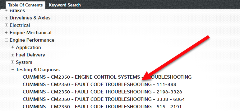 Fault Code Trouble Shooting