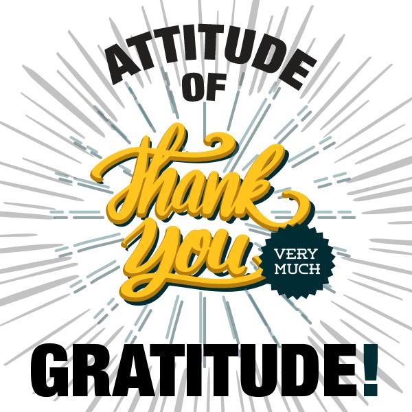 SocialCRM Attitude of Gratitude Winner July 2018