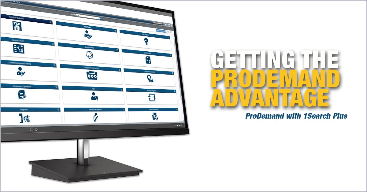ProDemand Advantages over other auto repair software competitors