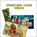 auto shop holiday postcard ideas