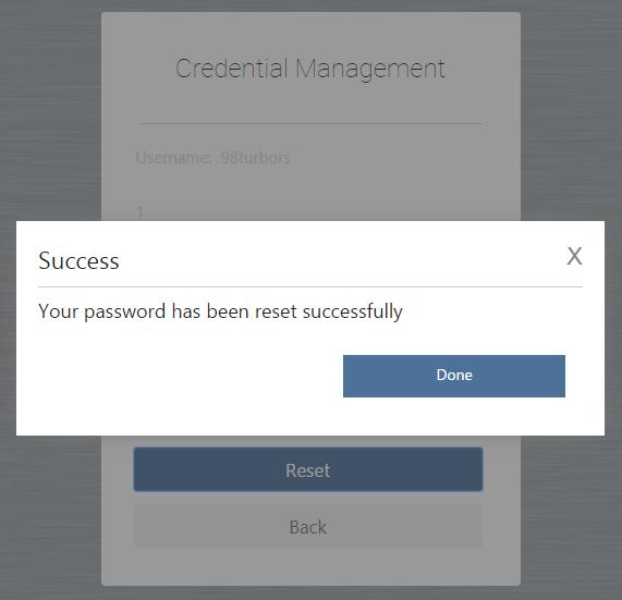 ProDemand Password Reset 5