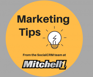 Marketing Tips from Mitchell 1 SocialCRM