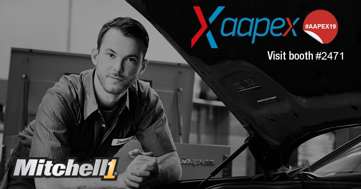 Excitement And Innovation Coming To Aapex 2019 Mitchell 1 Shopconnection