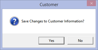 Answer YES to save the Membership # field input.