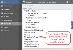 service manual mobile