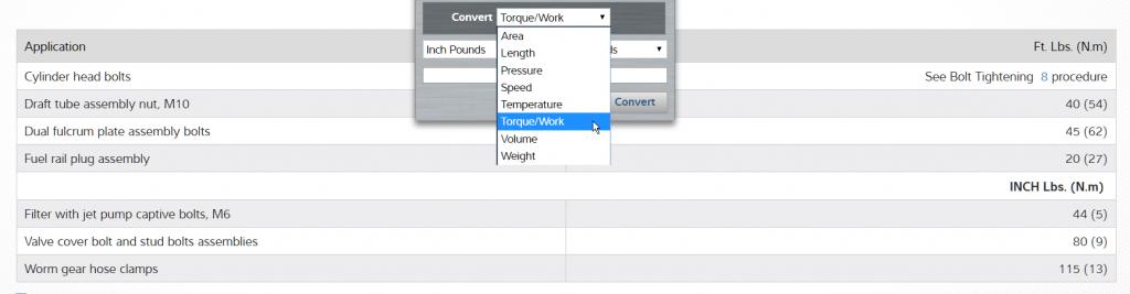 Calculator details in TruckSeries