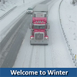 Welcome to Winter Truck Driving