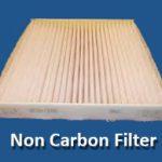 non carbon filter