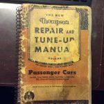 Old Auto Repair Manuals