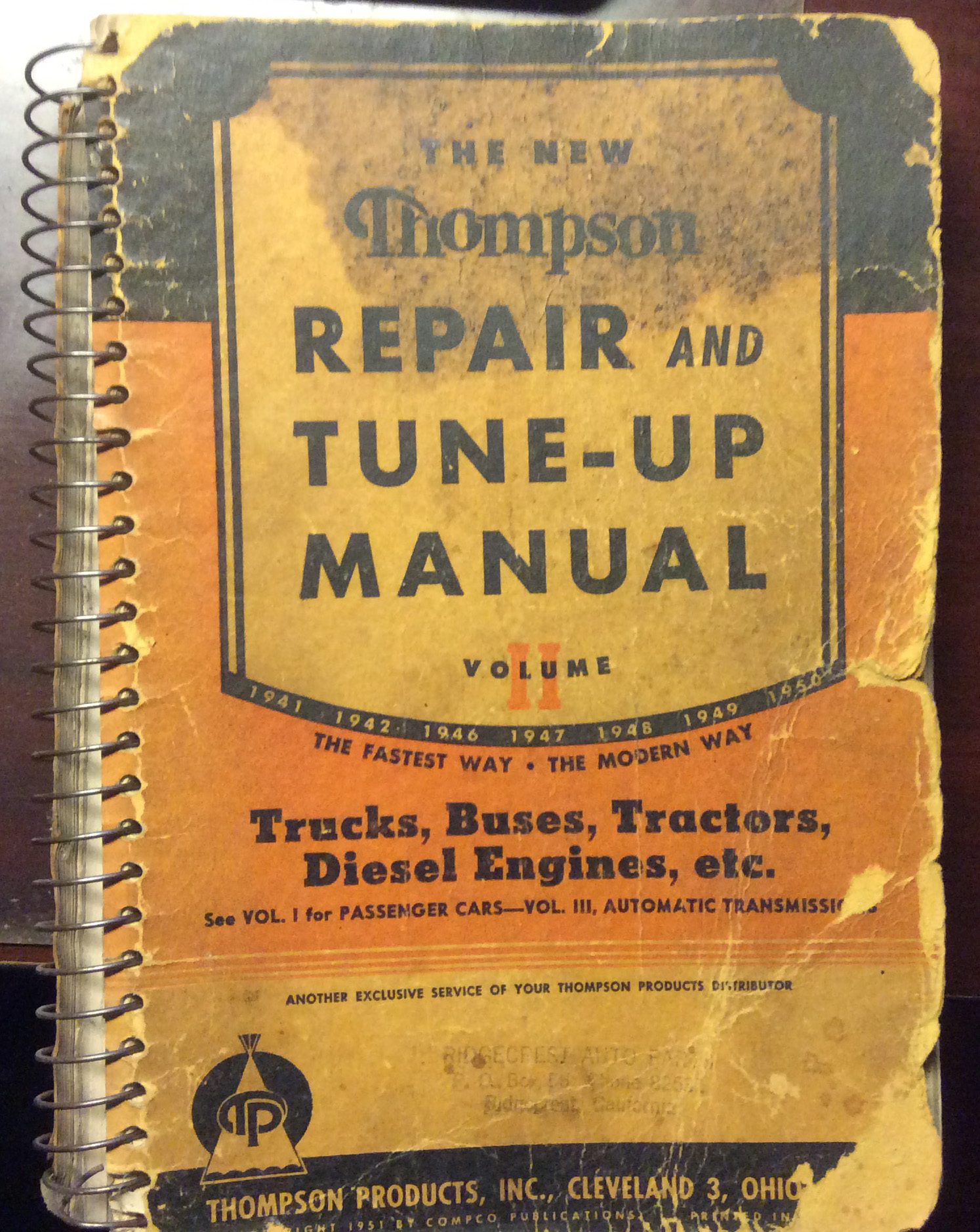 Mitchell 1 Old Repair Manual