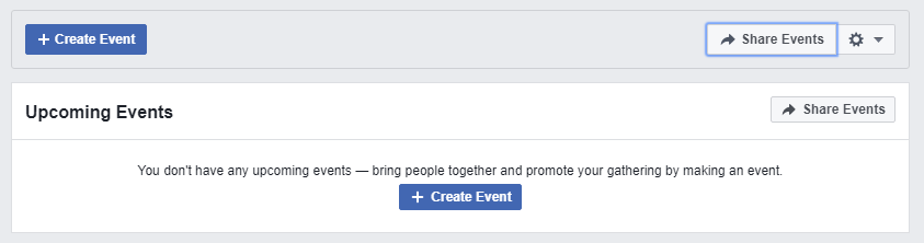 Creating Event in Facebook