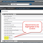 ProDemand 1Search Plus Highlighting Update