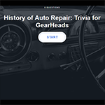 history of auto repair quiz - mitchell 1