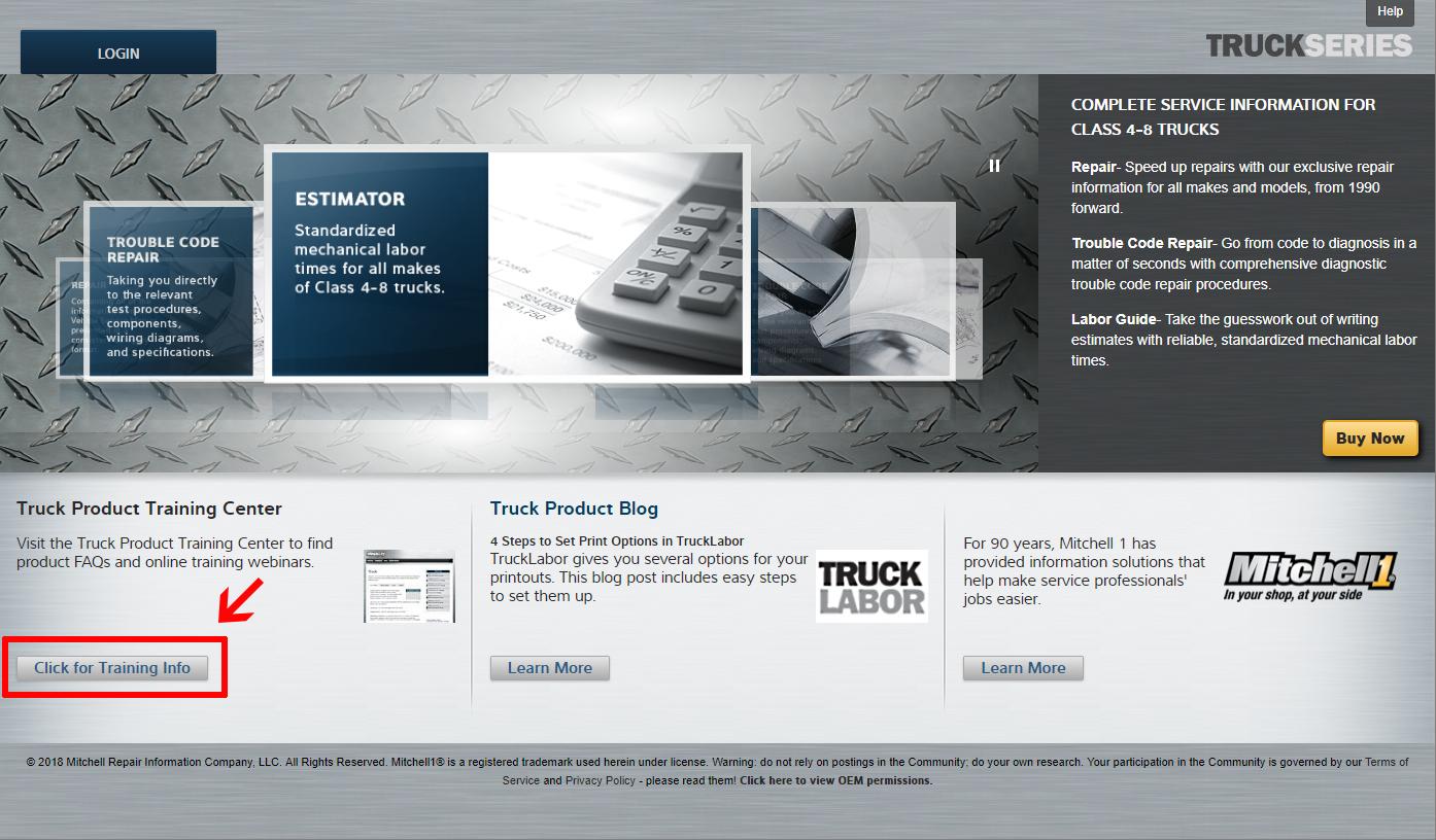 TruckSeries Training: Training Center Portal